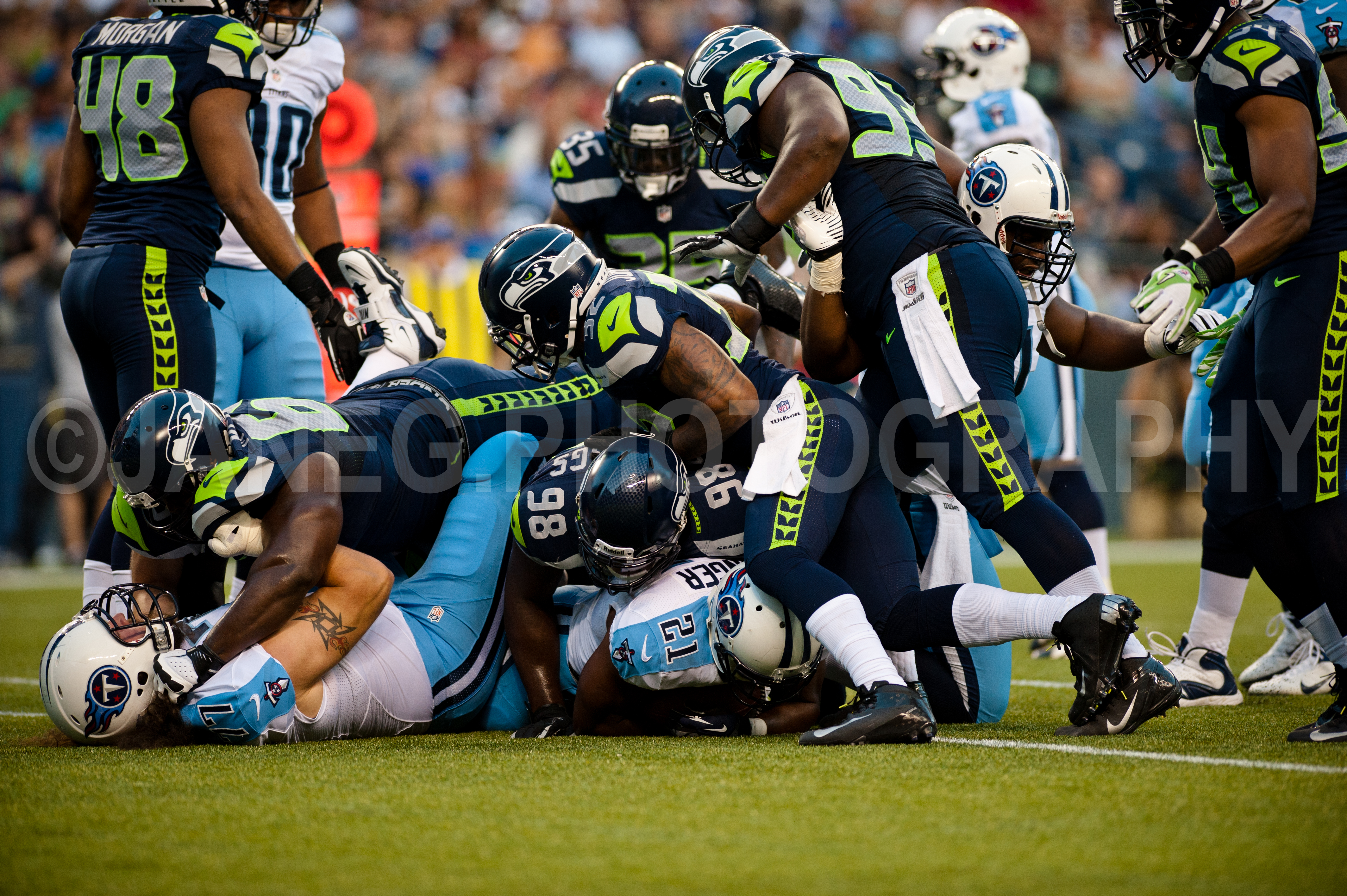 Seahawks Titans